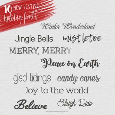 Festive Free Holiday Fonts