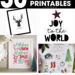 Christmas home decor   Christmas printable signs   Christmas printables   printable signs   free printables