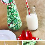 white chocolate popcorn | holiday place card | Christmas tree place card | holiday decor | free printable