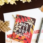 DIY Gratitude Journal | printable journal | gratitude journal | homemade journal | free printable