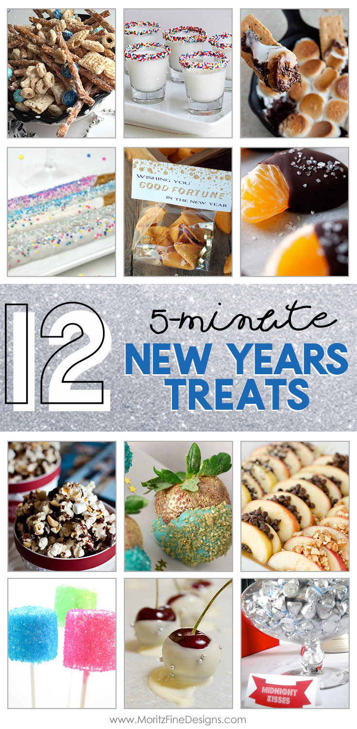 These are the perfect last minute Christmas Treats & Desserts. They are quick and easy, even the kids can help make them for your holiday party or gathering. #NewYearspartyfood #newyearsappetizers #easyappetizers #NewYearsEvefood #newyearsideas