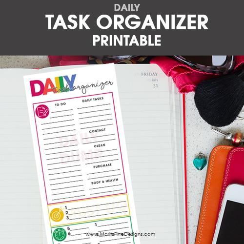 Daily Task Organizer