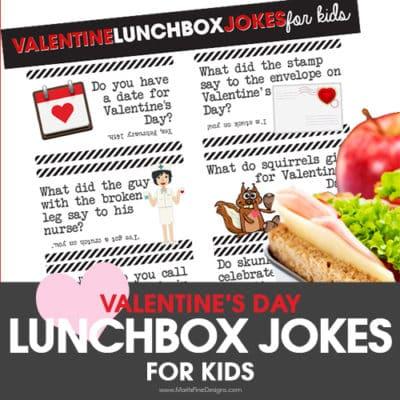 Valentine's Day Lunchbox Jokes for Kids