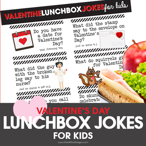Valentine's Day Lunch Box Jokes for Kids