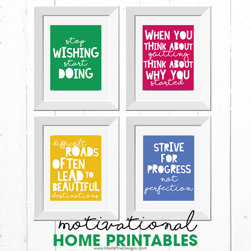 Motivational Quote Printables