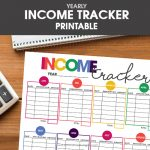 Free Printable Income Tracker