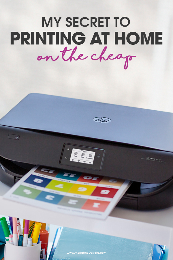 print at home for less | how to print full color on the cheap | inexpensive printing | my secret to printing printables at home