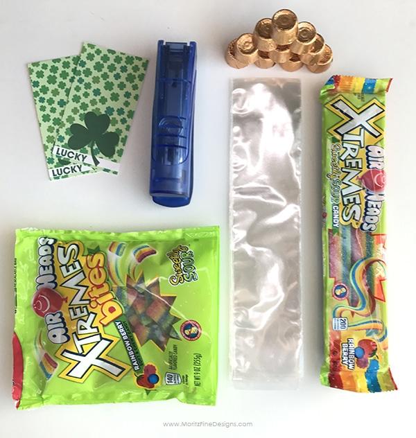 St. Patrick's Day Rainbow Treat | free printable | kid snack | St. Patrick's Day DIY craft idea