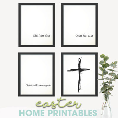 Easter Printable Home Prints | Free Download