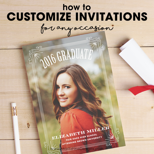 How To Customize Invitations for Any Occasion