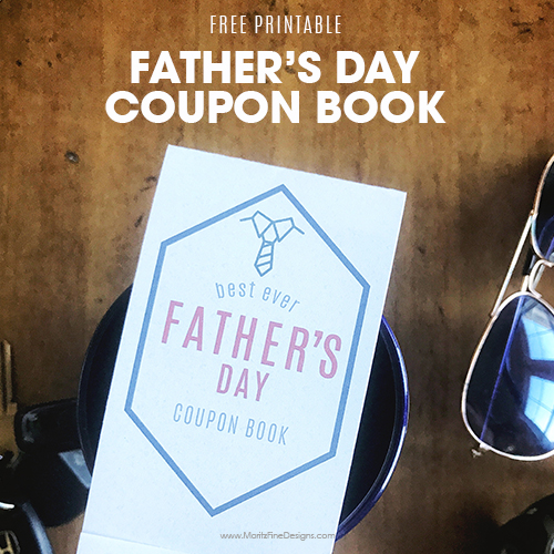 Father's Day Coupon Book | Free Printable