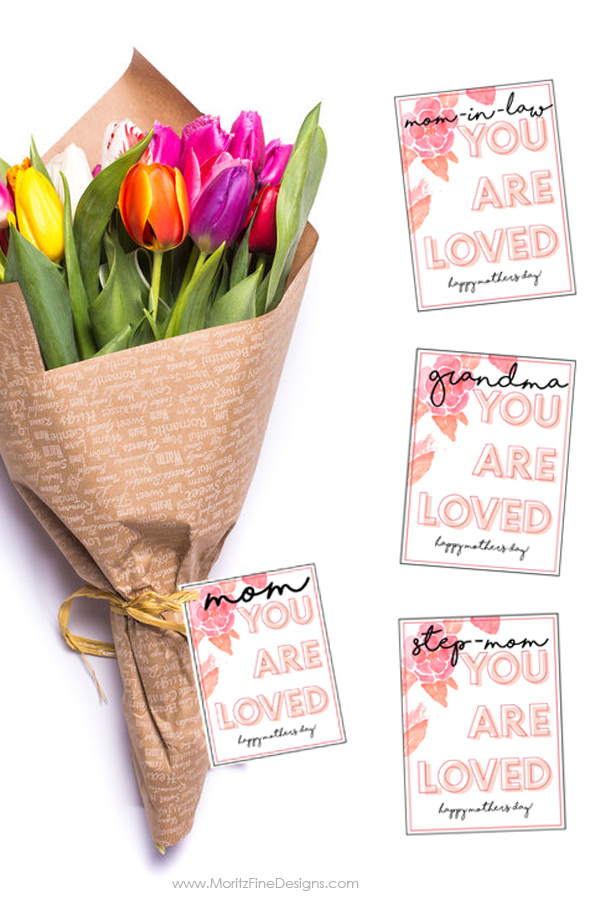 picture about Mother's Day Tags Printable identify Moms Working day Present Tag Printable for Any Reward No cost Printable