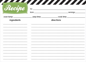 5 ways to get organized in the kitchen | clear the clutter | free printable recipe cards | how to eliminate mess