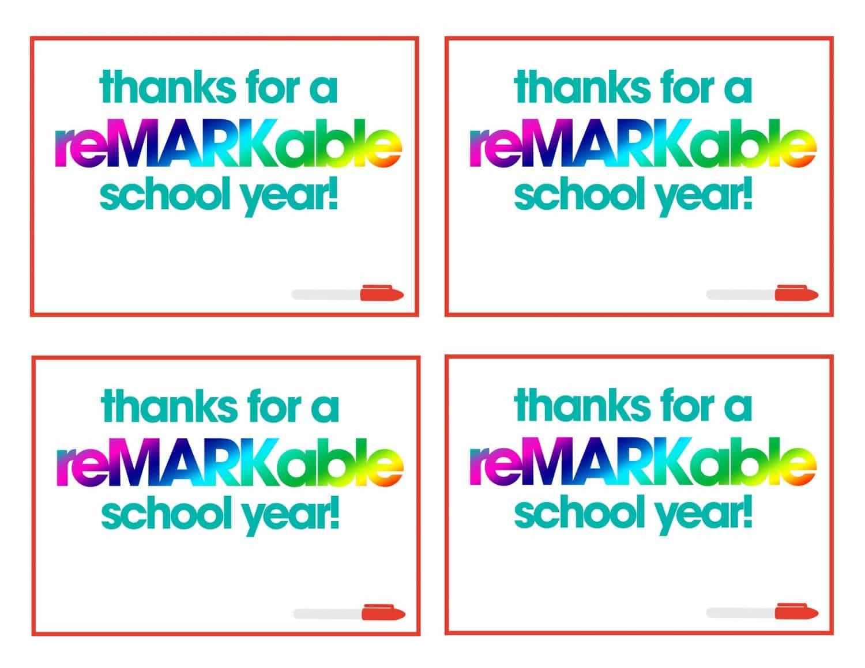 teacher appreciation | free printable | gift tags for teacher | fast & easy teacher gift