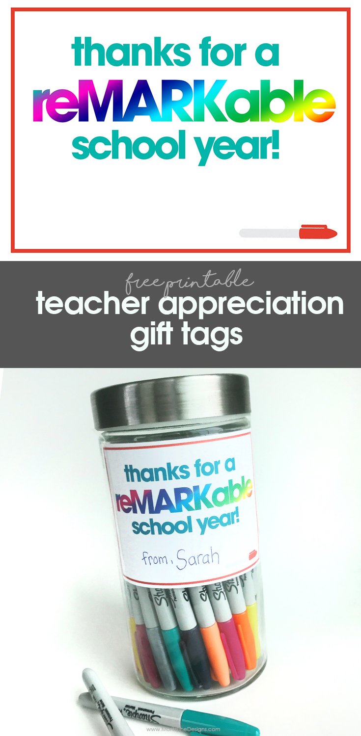 Easy teacher gift idea create a teacher gift in just 5 minutes teacher appreciation free printable gift tags for teacher fast easy teacher gift negle Gallery