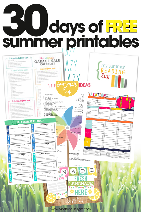 free summer printables | summer photo scavenger hunt | scavenger hunt for kids | free printables