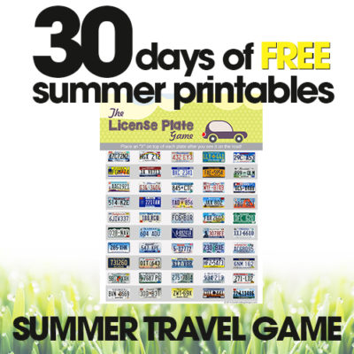 Summer Travel Game | Free Summer Printables Day #25