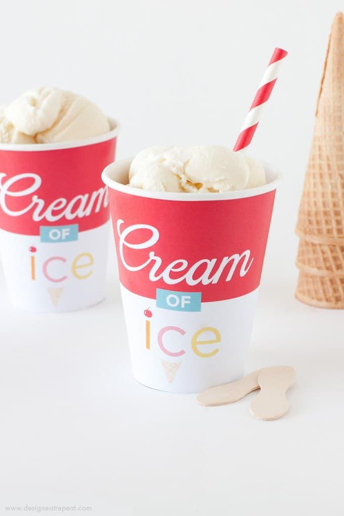 free summer printables | summer food printables | fun summer party food ideas | free printable