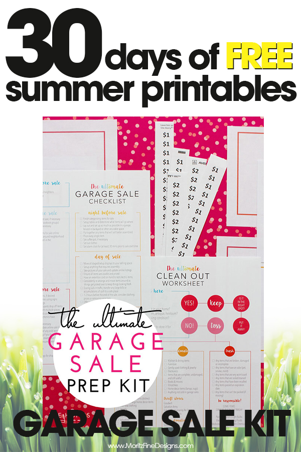 It's just a picture of Tactueux Free Garage Sale Printables