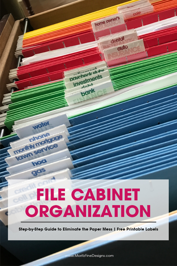photograph about Free Printable Organizing Labels named Basic Actions in the direction of Get hold of Your Report Cupboard Well prepared with Cost-free