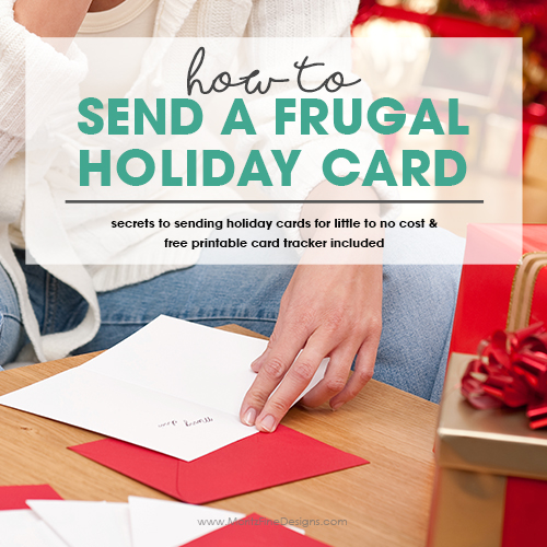 How to Send a Frugal Holiday Card