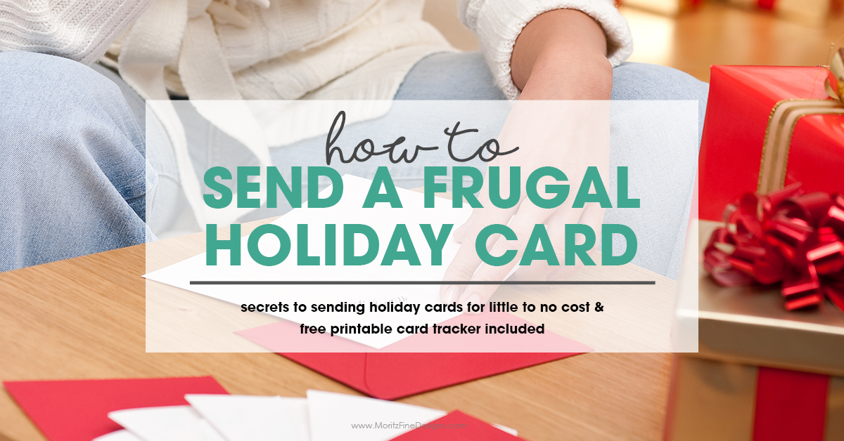How to Send a Frugal Holiday Card | Free Printable Holiday Card ...