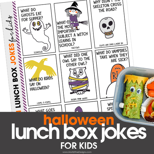 Halloween Lunch Box Jokes for Kids