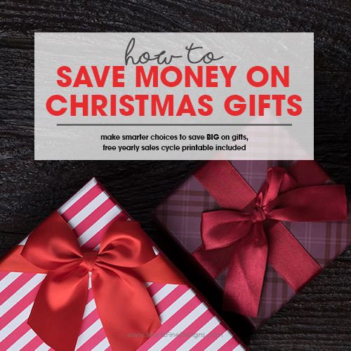 How to Save Money on Your Christmas Gifts