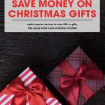 How to Save Money on Christmas Gifts | Free Printable Yearly Sales Cycle Guide | money saving holiday gifts | best time to buy list