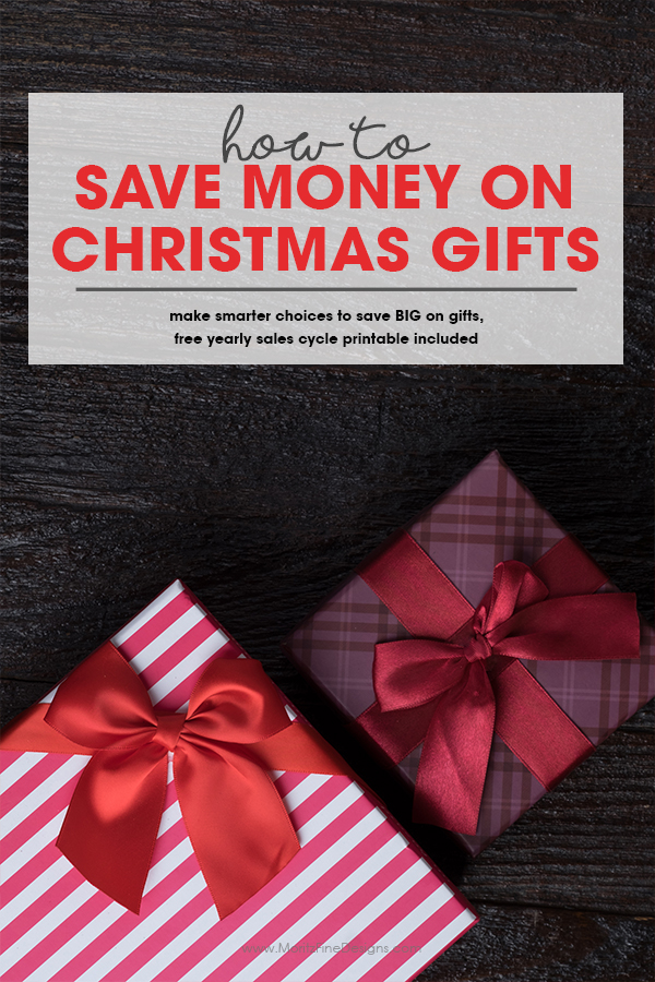 How to Save Money on Christmas Gifts | Free Printable Yearly Sales Cycle