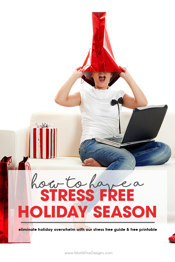 Using these 5 simple action steps we can eliminate holiday overwhelm had have a stress free holiday season. One thing we can do is self-care. YES, we need to take care of ourselves first in order to then take care of others. Use the free printable Self-Care Checklist to improve your holiday life