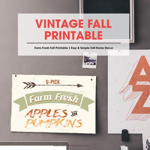 Vintage Fall Printable