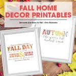 Fall/Autumn Free Printables