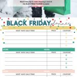 How to Prepare for Black Friday Like a Boss   Free Printable Black Friday Planner   Black Friday Organizer   Top Black Friday & Christmas Shopping Tips