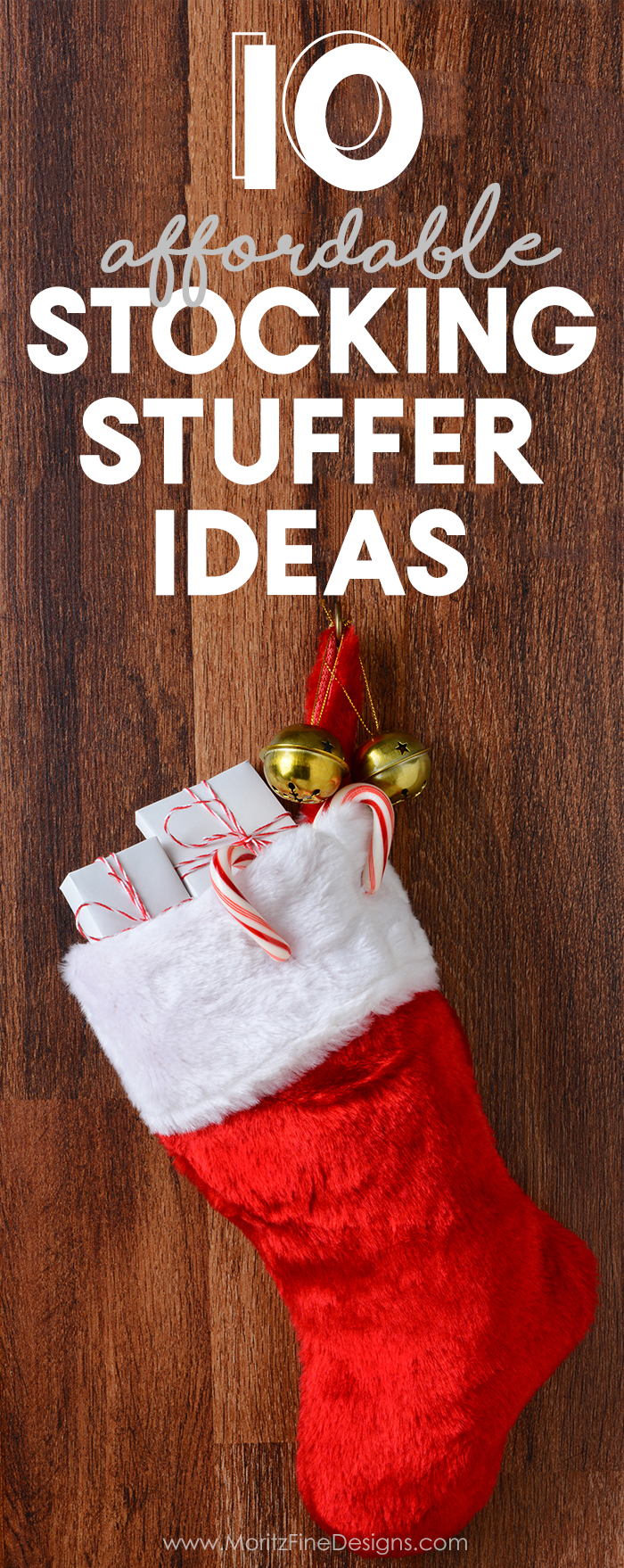 Your family will love these 10 affordable and creative stocking stuffer ideas for Christmas. Awesome ideas for kids, teens and adults. Free printable Holiday Coupon Book included. #stockingstufferideas #cheapstockingstuffers #printablecouponbook #christmasideasforkids #freeprintable
