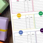 Never forget another birthday again. Use the free printable Birthday Record Keeper to compile a complete list of your family and friend's birthdays.