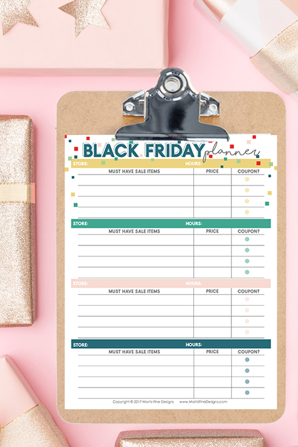 Learn how to prepare for Black Friday like a boss (and avoid the chaos) by using our simple tips and free Black Friday Printable Planner.