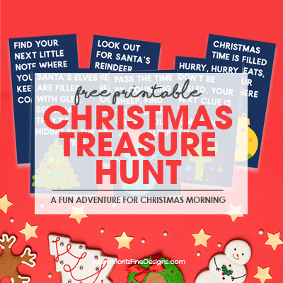 Christmas Treasure Hunt for Kids