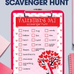 Bring on the competition. The kids can have a little fun for Valentine's Day by having a Valentine's Day Scavenger Hunt. Free printable. Download now.