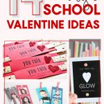 Need an easy and fast idea for your kid's Valentines this year? Check out this great DIY list of 14 Easy School Valentine Ideas even your kid's can make!