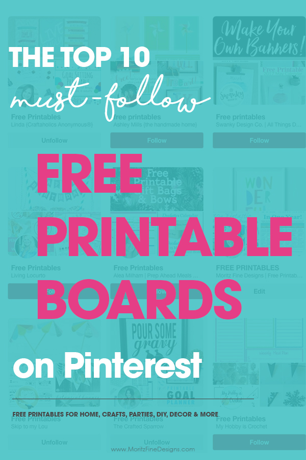 Top 10 Free Printable Pinterest Boards Pinterest Boards You Must