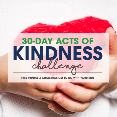 30-Day Acts of Kindness Chllenge