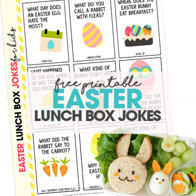 Easter Lunch Box Jokes for Kids