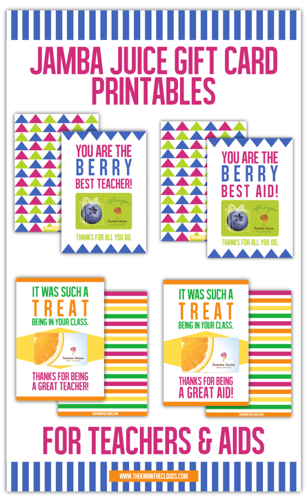 12 Teacher Appreciation Printables | Moritz Fine Designs