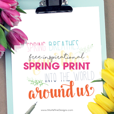 Spring Decor Printable | Free Printable For Your Home