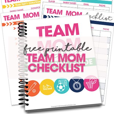 Team Mom Checklist Mini-Guide