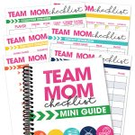 Feeling overwhelmed with all the tasks a team mom must do? Use the Team Mom Checklist Mini-Guide to make sure you keep your kid's team completely organized.