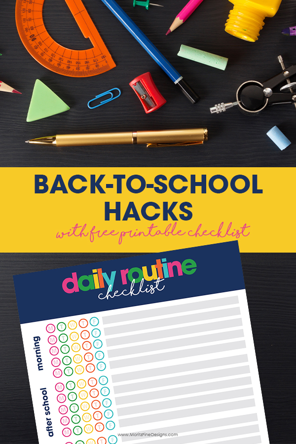 Use these best Back to School Hacks to make the transition back to the day in and day out school routine easy for kids and parents.