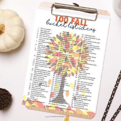 100 Fall Bucket List Ideas