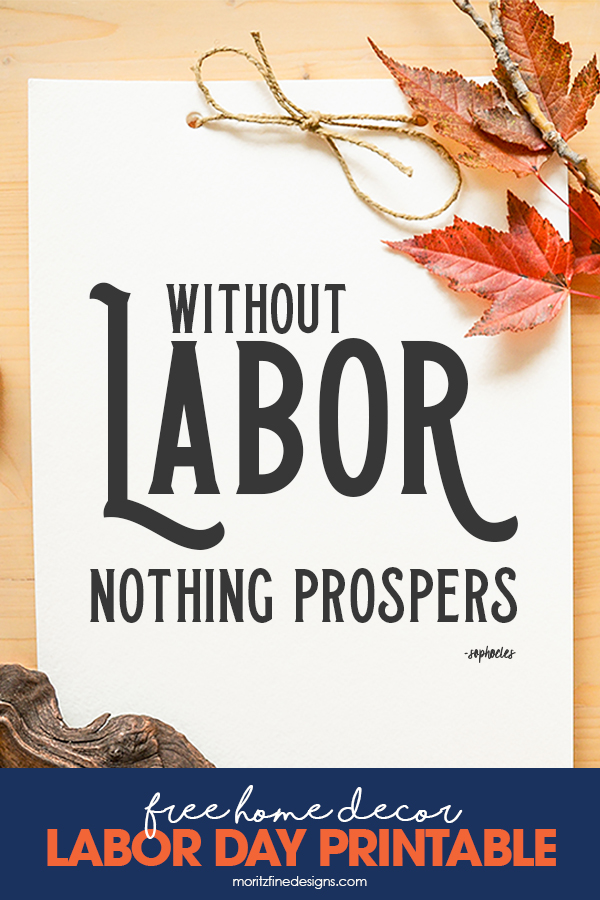 picture regarding Closed Labor Day Printable Sign referred to as Labor Working day Household Decor Prints Free of charge Printable Obtain
